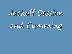 Jackoff Session and Cumming