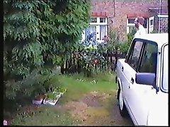 Wank in the garden