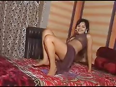 Cute Indian girl dancing