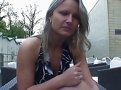 Real czech waitress fucks for money. Homemade video