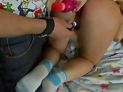 Hot Brunette Fucked Hardcore on Video