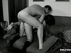 Brutal kinky man fucks sexy busty MILF Natali in various poses