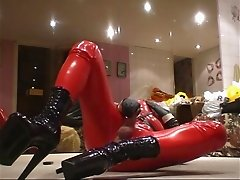 Roxina Gagged In Red X
