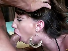 Fantastic fat ass on a hardcore slut getting pounded