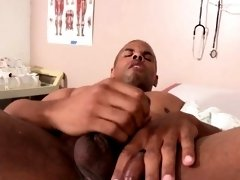 Black hunk pegged at the hospital