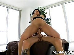 Pungent woman Eva Angelina bends to get fucked hard