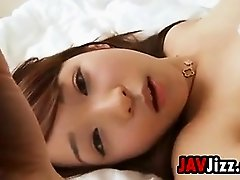 Sweet Japanese Beauty Teases Panties Softcore