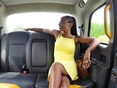 Fake Taxi Lovely ebony beauty Lola Marie