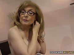 Nina Hartley Fucks Black Guys For Votes