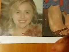 My devotion to Chloe Grace Moretz feet