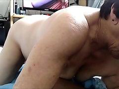 Amateur sex in doggy style on her amateur footage