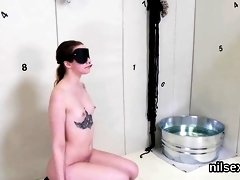 Nasty chick is taken in anal loony bin for harsh ther36yMV