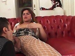 Latina tgirl anal fucks