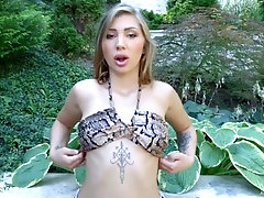 vyvan hill dripping messy creampie cum from holes by all