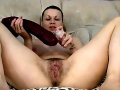 Carla, married open minded mom from Montreal with a natural and well trained pussy.