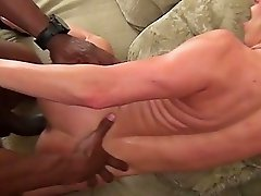 Interracial Sloppy Creampie Gangbang