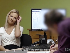 LOAN4K. It is not a porn casting but amateur should fuck loan agentv