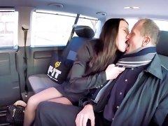 Dirty car sex with horny Czech girl Wendy Moon