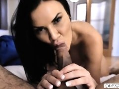 Stepmom is hungry for a midnight snack cock