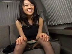 Japanese girl gives an awkward blowjob to her boss
