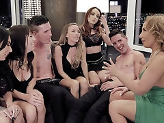 Richelle Ryan and Alana Cruise enjoy group sex experience