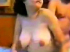 Cheerful Arab Girlfriend Banged In Doggy On Bed