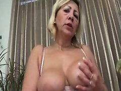 Horny mature whore goes crazy part4