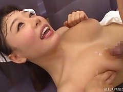 Hospital hardcore sex with a horny Japanese nurse