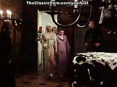 Joëlle Coeur, Marie-France Morel, Brigitte Borghese in vintage fuck clip