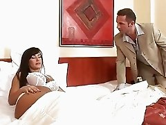 Lisa Ann Sleeping beauty has a cock wake up call