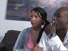 Jordan Kingsley Tries Tina Doves Black Boyfriend