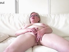 OldCunts presents real amateur granny with hungry pussy