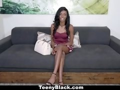 TeenyBlack  Fresh Inexperienced Black Teen Fucked