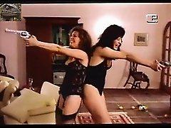 Claudia Raia and Louise Cardoso - Retro Lesbian
