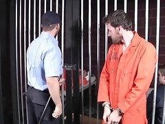 Sexy inmates at  Barebacked In Prison Part 4 Scene 1