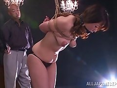 Rough bondage porn with japanese porn sweetheart Nao Katoh