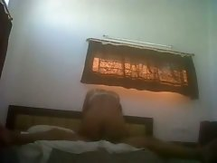 Amateur Indian GF is riding hard dick on top