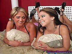 His big black cock will surely be enough for these horny babes