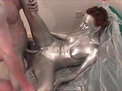 Silver paint sex