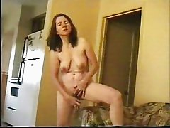 Watch my mature wife masturbating for you