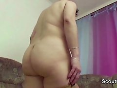 stepmother Seduce Step son to Fuck her Hairy Pussy hard