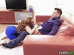 Best way to learn to fuck two girl is with Brenna Sparks and Richelle Ryan