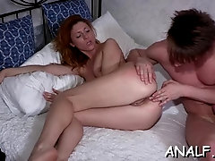 Overwhelming girlie Renata experiences backside fuck