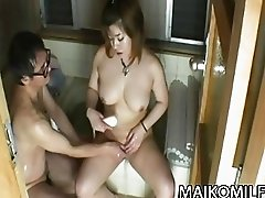 Kana Miyagi  That JAV Wife Is So Noisy In Bed