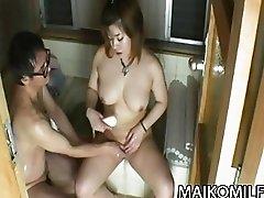 Kana Miyagi  That JAV Wife Is So Noisy In Bed