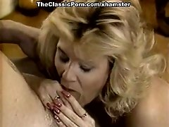 Ginger Lynn Allen, Tiffany Blake, Tom Byron in classic porn
