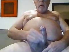hot daddy cum at end