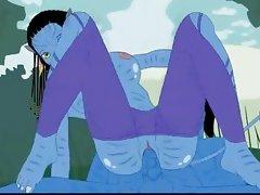 Avatar's porn scene + Beetlejuice bangs Lydia