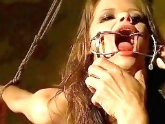 Two submissive teens love getting extremely punished by their master