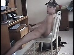 Hung Amateur Shadow Jacking Off